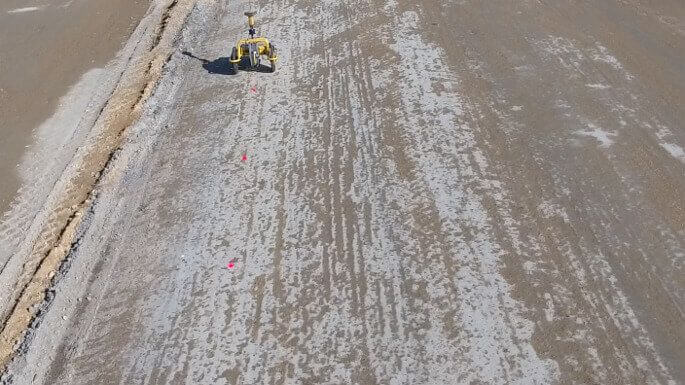 TinyPreMarker robot for automated road premarkings