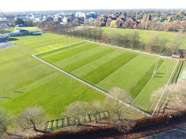 Rugby pitch Parkway Ground Maintenance