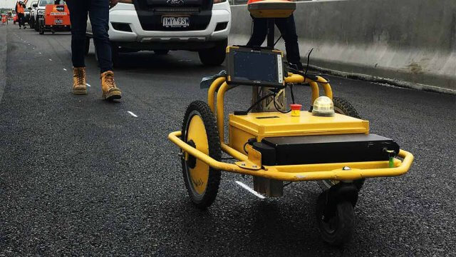 Road pre-marking for road and infrastructure projects